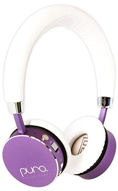 Purple Puro Headphones from Puro Sound Labs