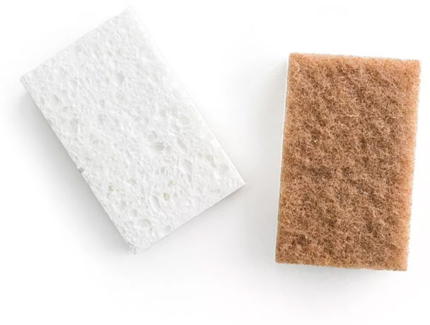 Grove Collaborative Walnut Scrubber Sponge