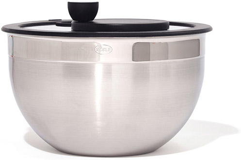 Rosle Salad Spinner with Glass Lid