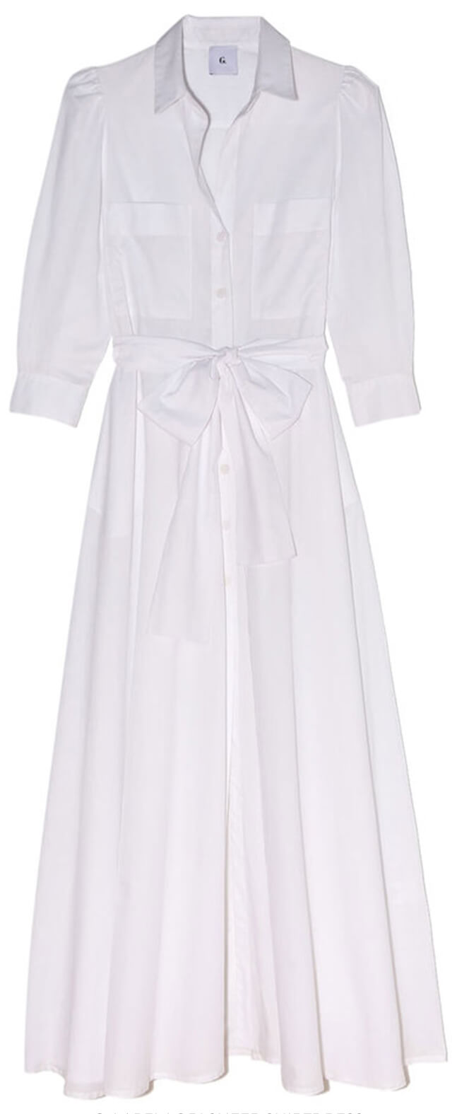 G. LABEL Lori Sheer Shirtdress