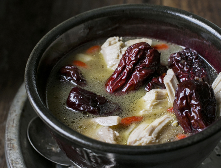 Chicken, Red Dates & Ginger Soup