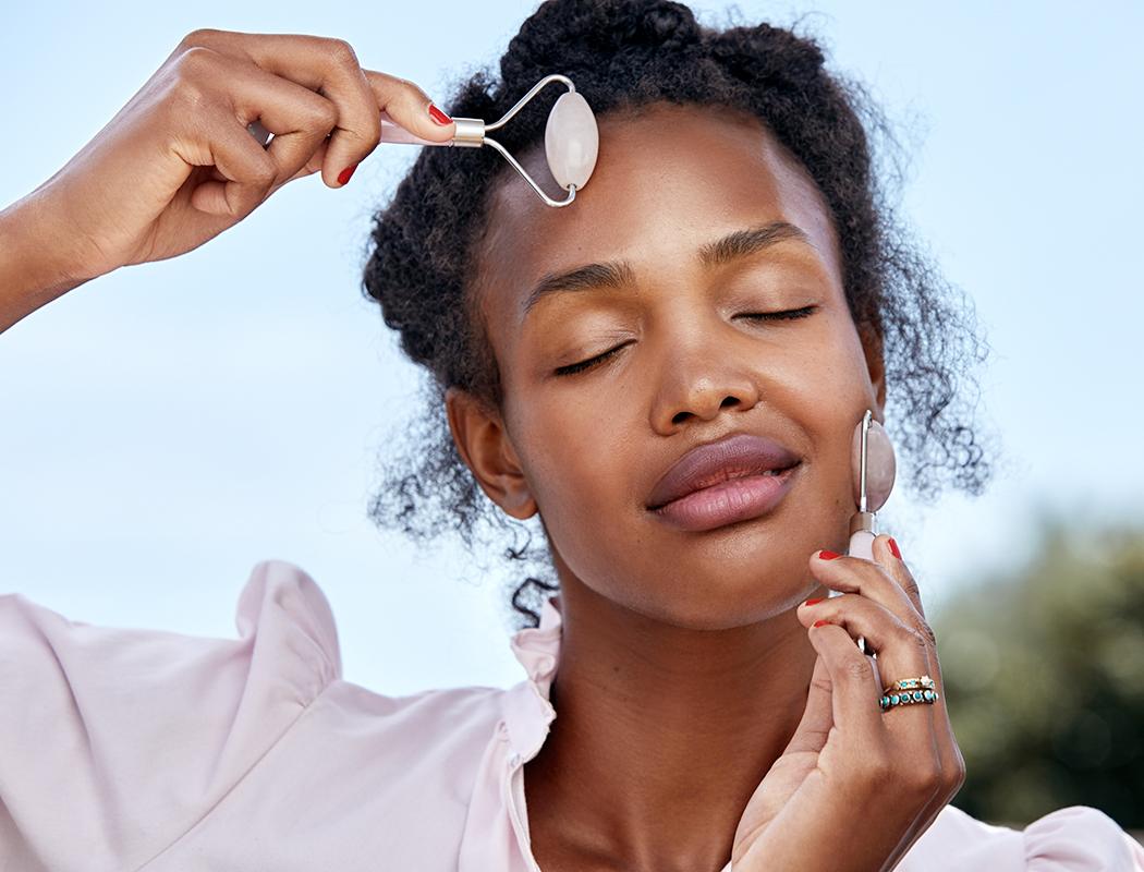 Megan Tries It: What the Eff Is a Rose Quartz Face Massage?