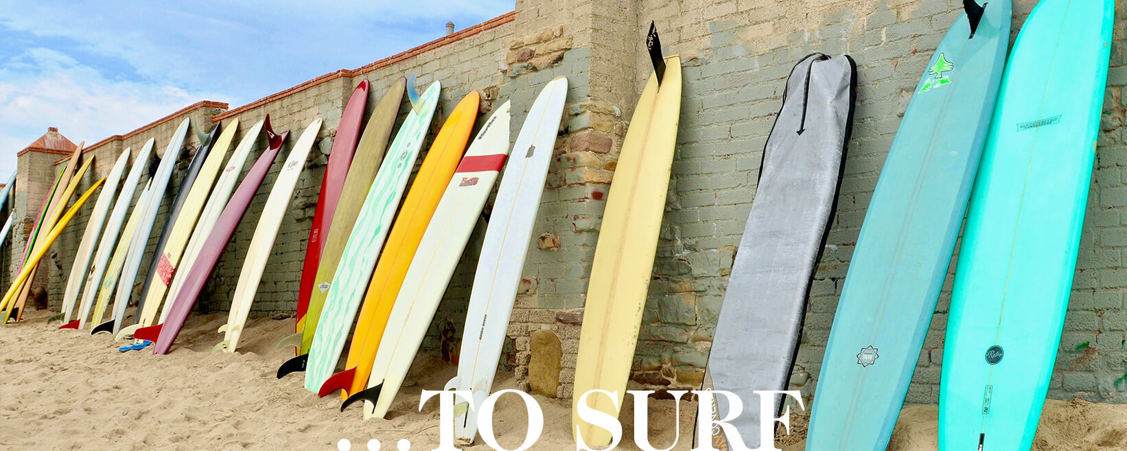 ... TO SURF section hero