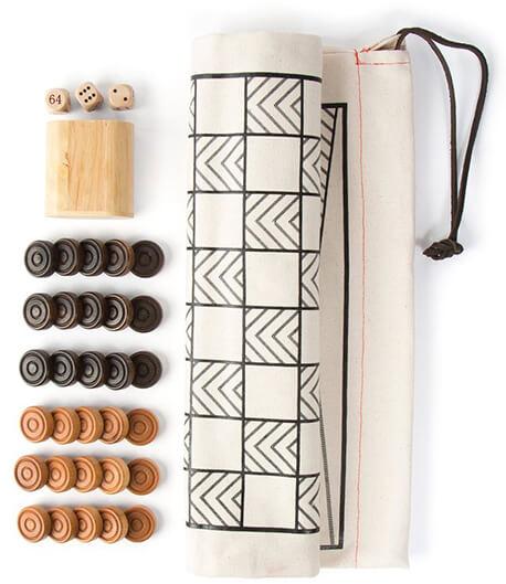 A SUMMER SHOP backgammon