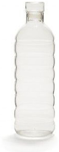 ABC HOME glass soda bottle