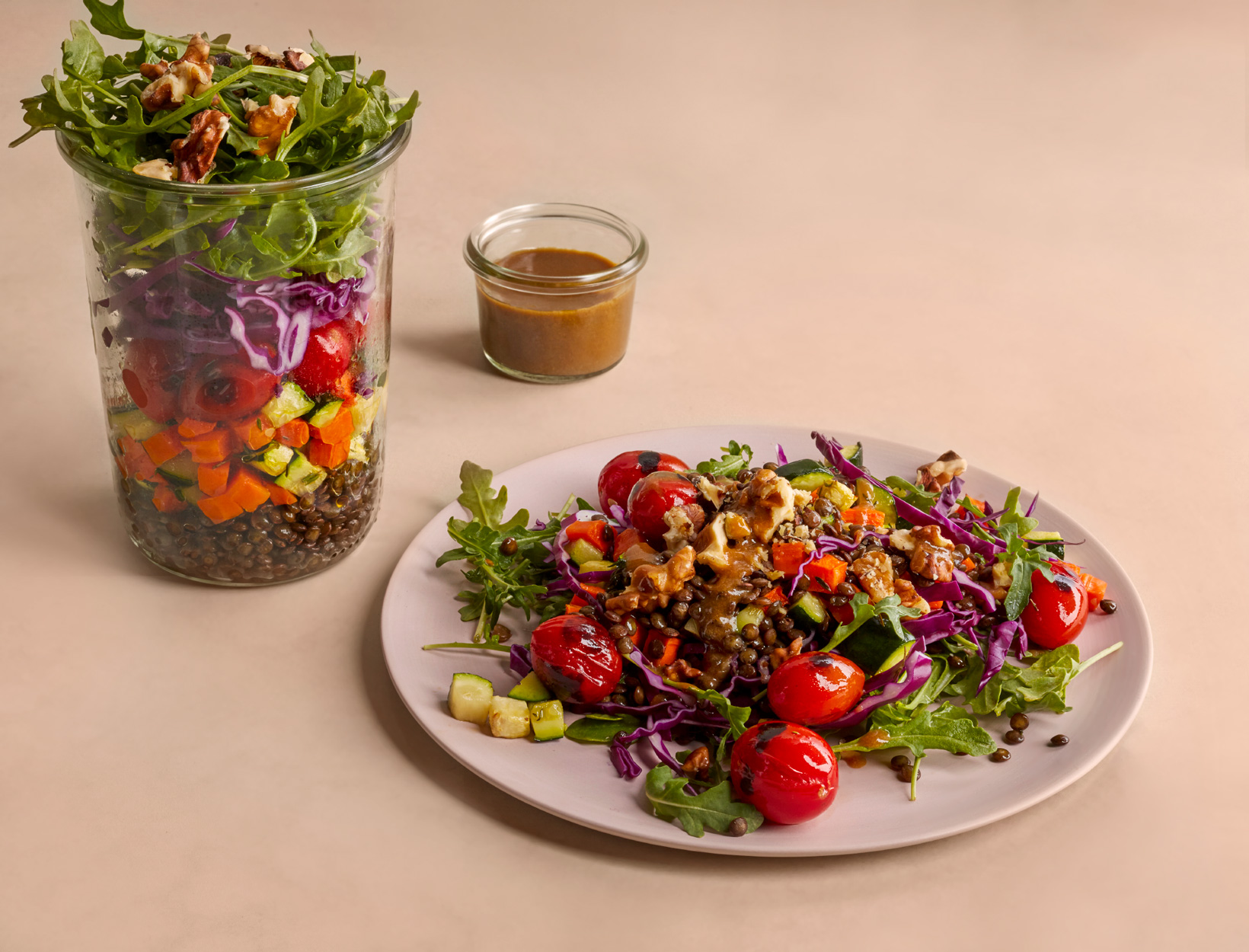 Balsamic Lentil Salad