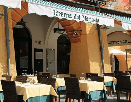 FRONT OF TAVERNA DEL MARINAIO