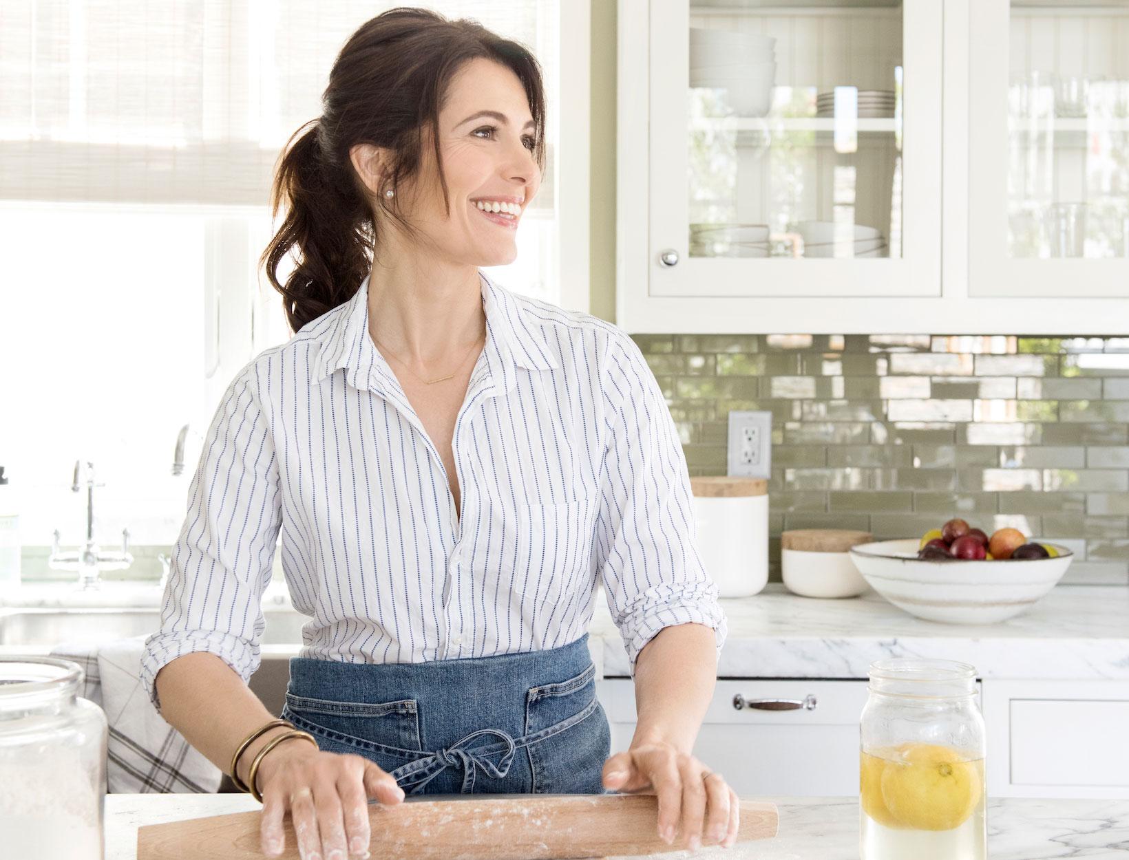 Pamela Salzman In The Kitchen