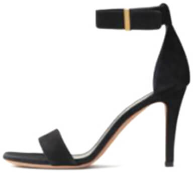 CÉLINE Black Heeled Sandal