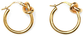CÉLINE small gold hoops