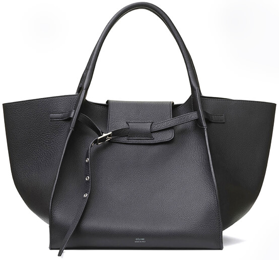 CÉLINE Big Black Bag