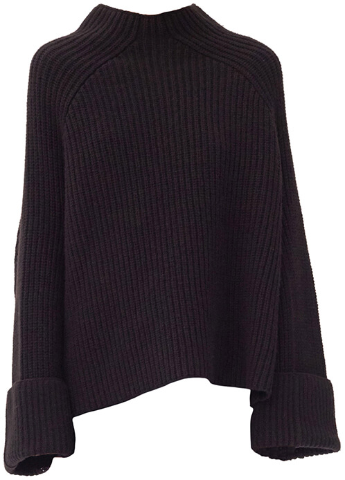 CÉLINE Black Knit Sweater
