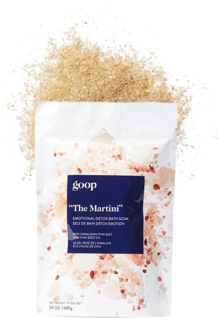 goop Body, The Martini Emotional Detox Bath