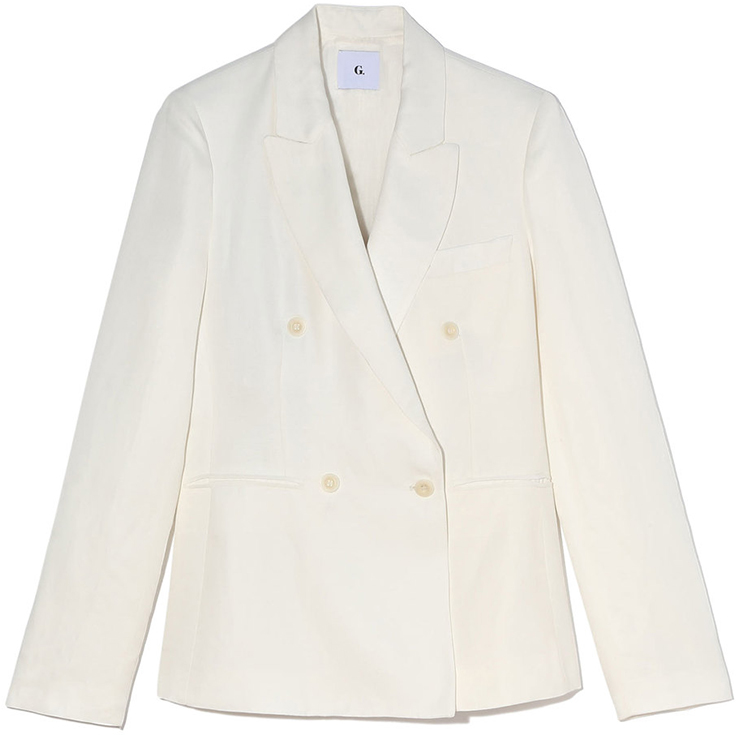 G.LABEL Jonathan Double-Breasted Blazer