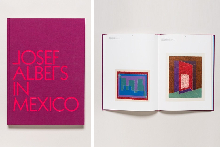 Josef Albers in Mexico book