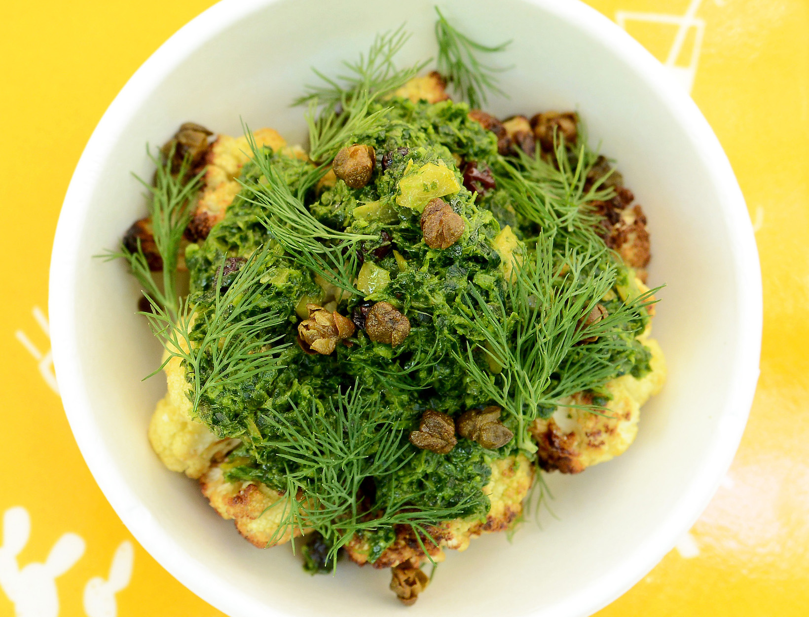 DEZ's Cauliflower Mezze