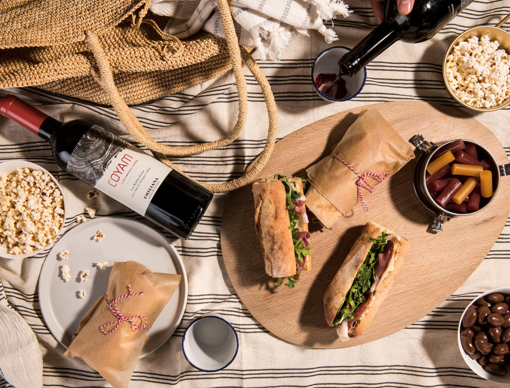 3 Easy, Elegant Picnic-Basket Menus for Summer