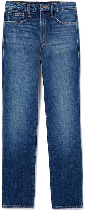 goop x Frame dark blue jeans