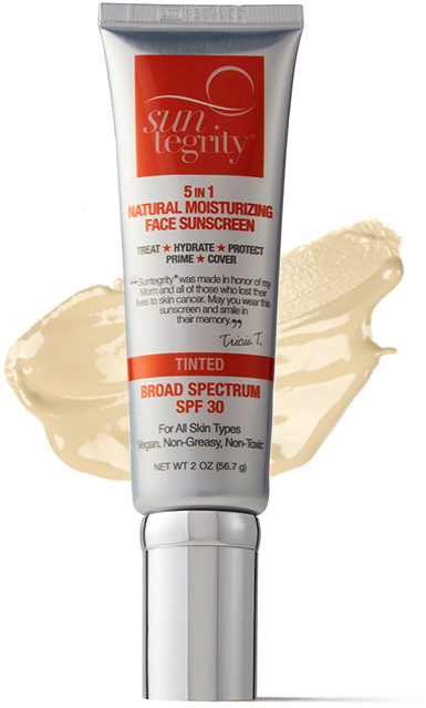 "Suntegrity ""5 in 1"" Natural Moisturizing Face Sunscreen"