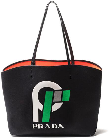 Prada logo bag
