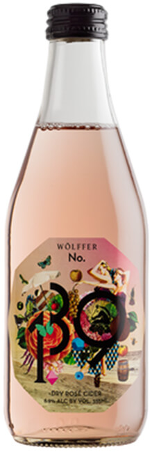 Wölffer No. 139 Dry Rosé Cider