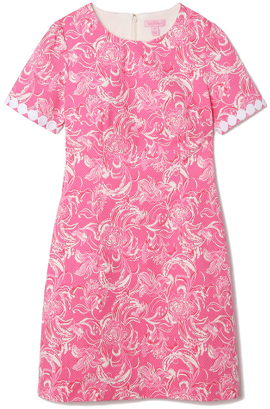 goop x Lilly Pulitzer GWYNETH STRETCH SHIFT DRESS
