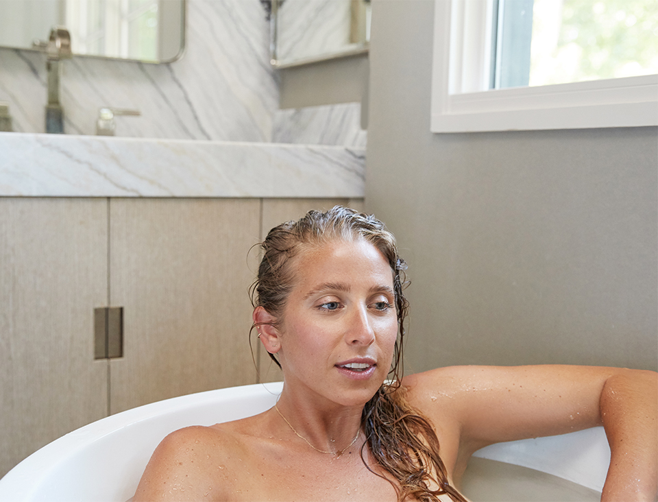 Kiki Koroshetz taking a bath goop Nighttime Routine