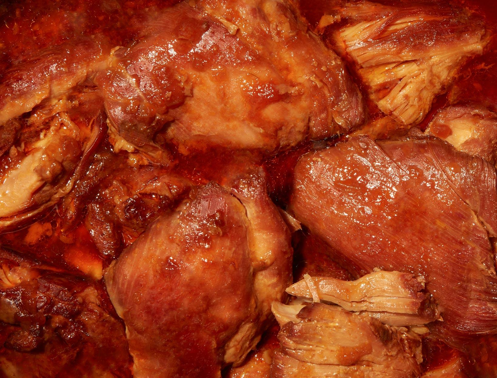 Shredded Korean Chicken   Goop