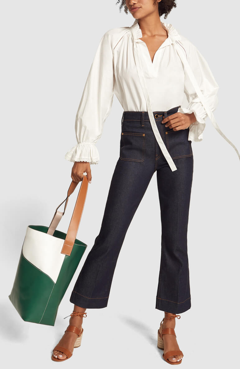 Green/white BAG
