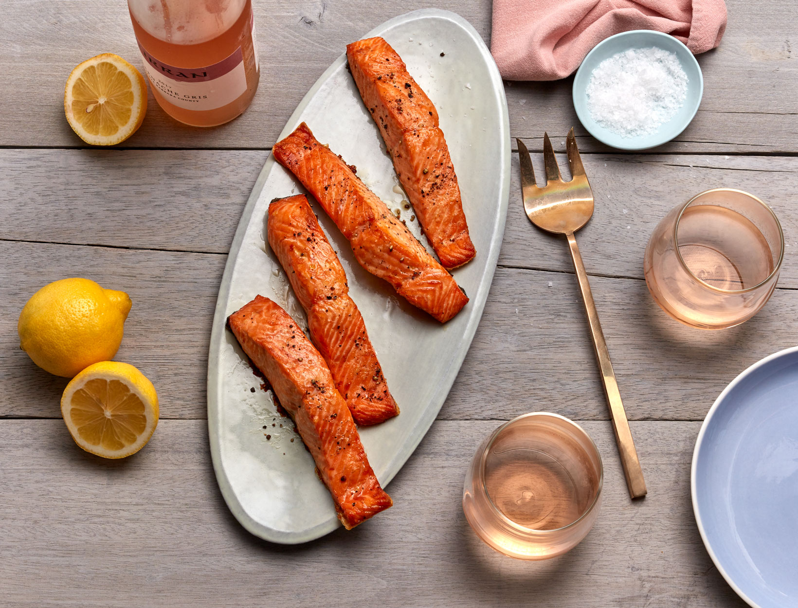 Easiest-Ever Broiled Salmon