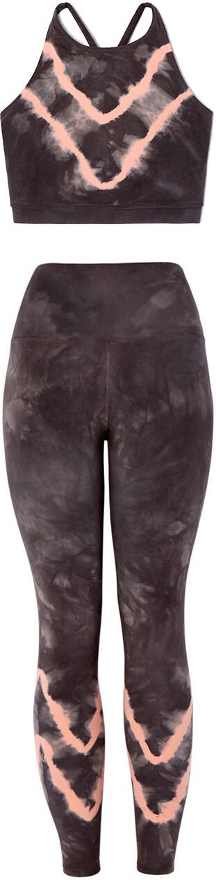 ELECTRIC & ROSE crop top and leggings