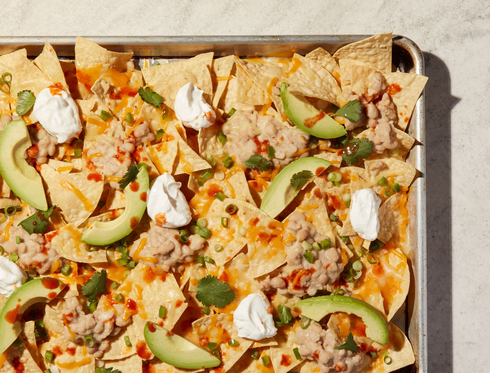 White Bean Nachos