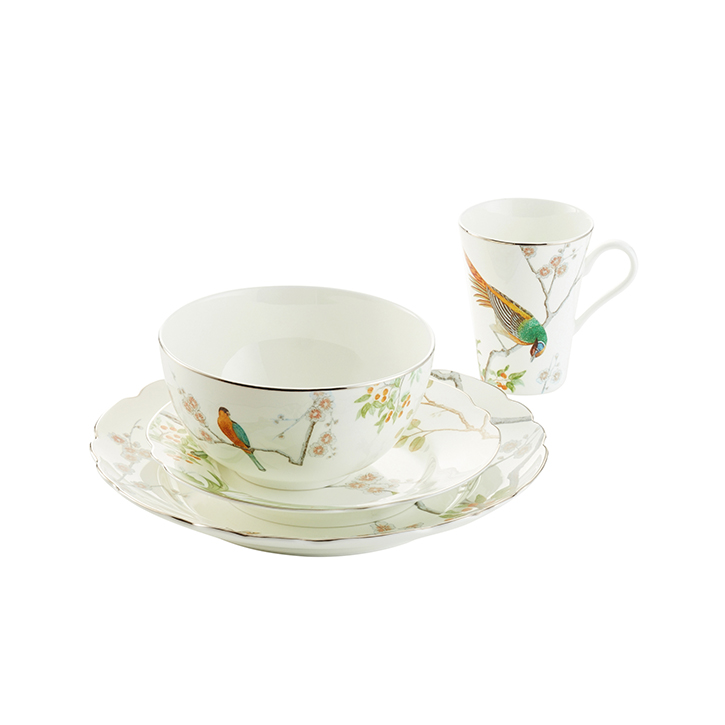 4-Piece Chelsea Place Setting with Cereal Bowl