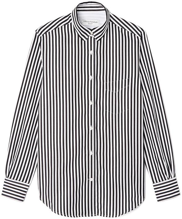 OFFICINE GENERALE striped button-down