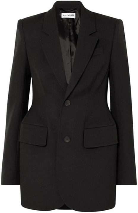 BALENCIAGA black blazer