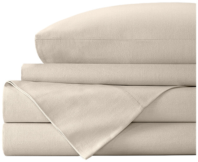 BOLL & BRANCH Flannel Sheets