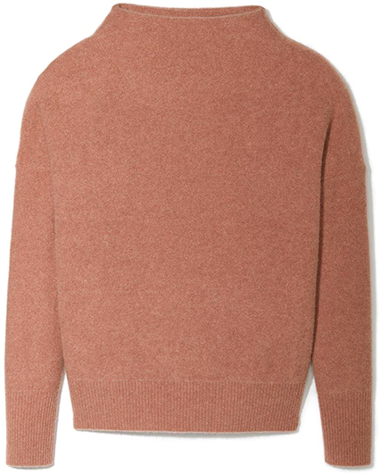 VINCE rose colored pullover