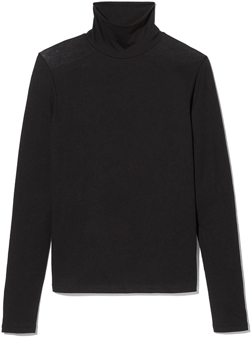 VINCE black turtleneck pullover