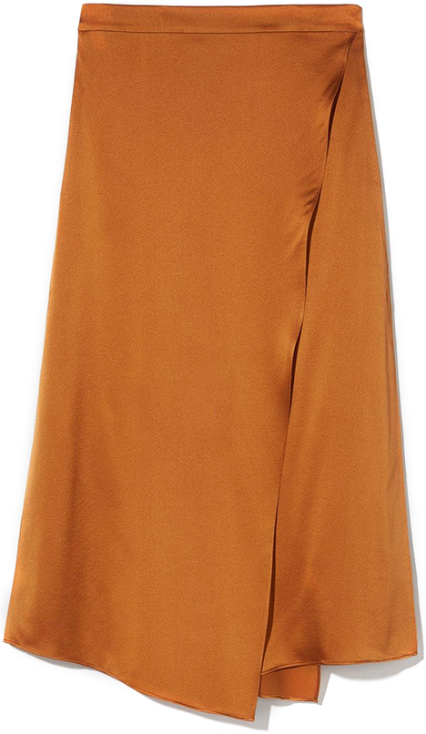 VINCE COPPER SKIRT
