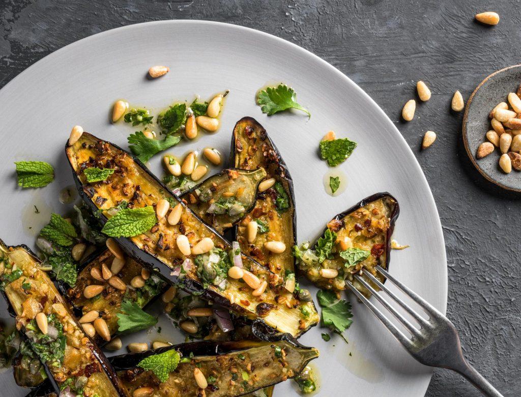 Roasted Eggplant Salad Recipe Goop