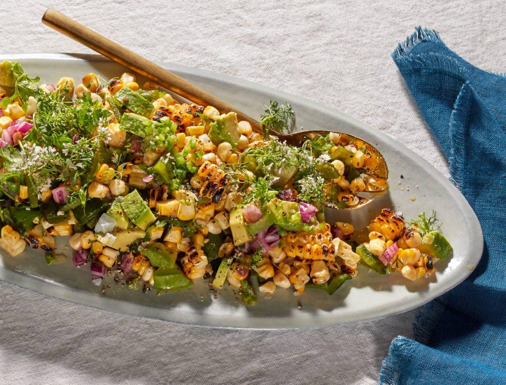 Grilled Corn Salad Recipe | Goop