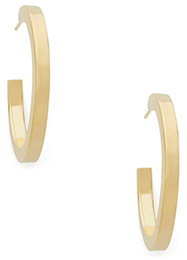 JENNIFER FISHER x GOOP gold hoops