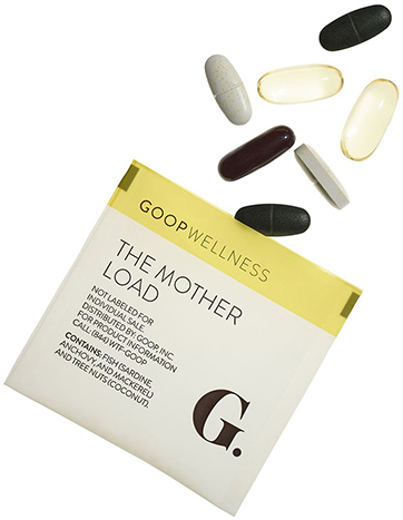 goop Wellness, The Mother Load