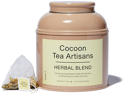 COCOON TEA ARTISANS tea herbal blend