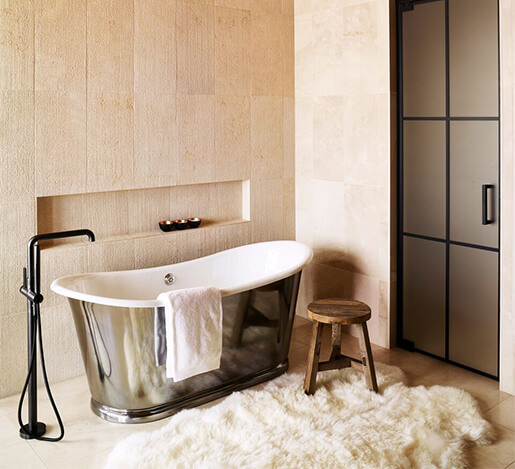 Caldera House bathroom