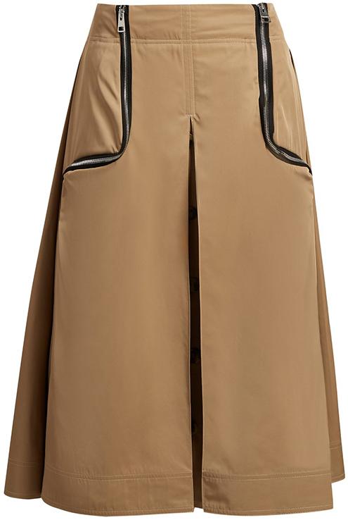 JW ANDERSON beige skirt