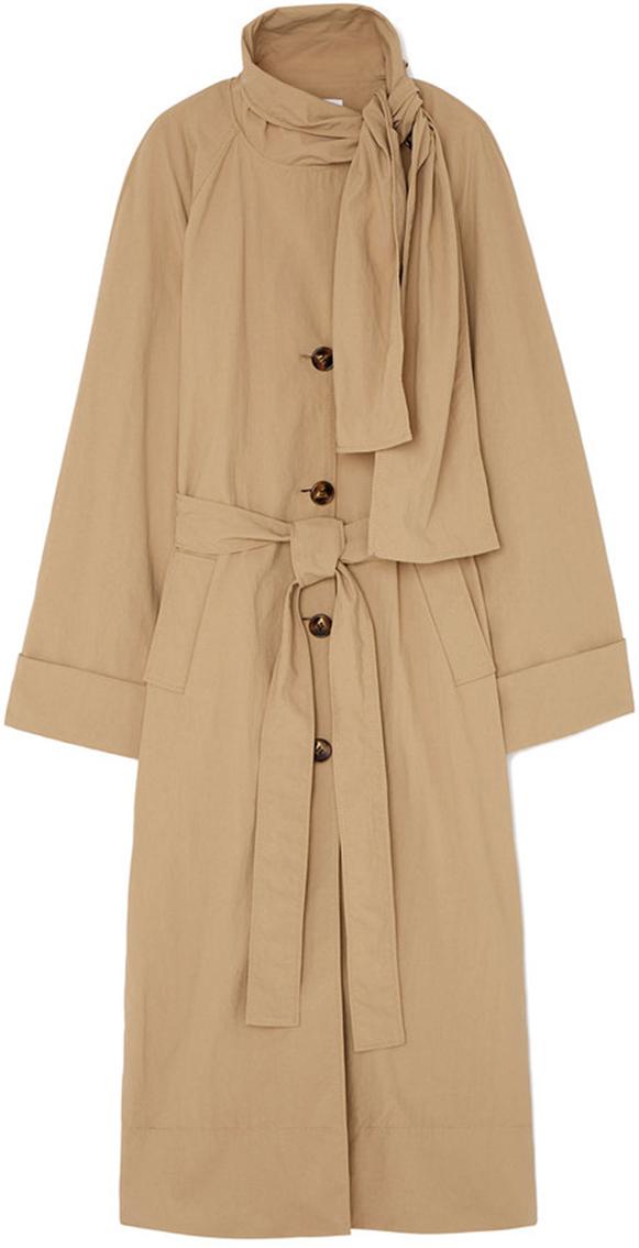 REJINA PYO beige trench coat