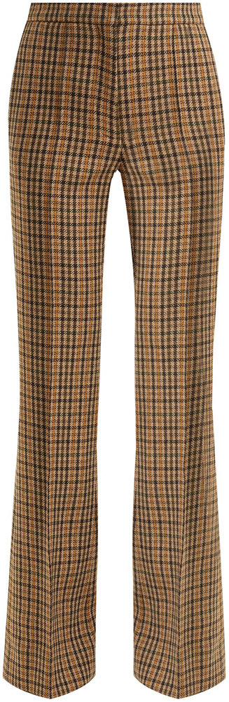 ROCHAS plaid trousers