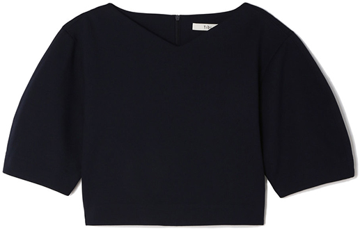 TIBI black crop top