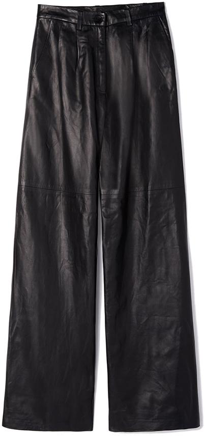 NILI LOTAN black leather pants